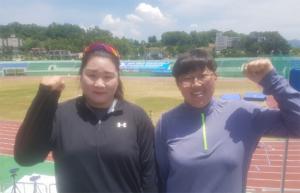 서귀포시청 육상부 전국대회 금 2-은 1 획득